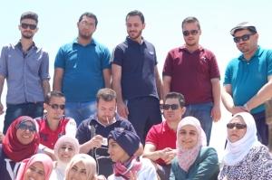 من المشاركين في رحلة عجلون - اشتافينا