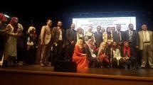 الوفد الاردني خلال المؤتمر في رام الله