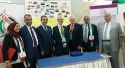 رؤساء الوفود امام طاولة الجمعية في معرض المؤتمر