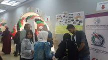 اقبال الحضور على طاولة الجمعية في معرض المؤتمر